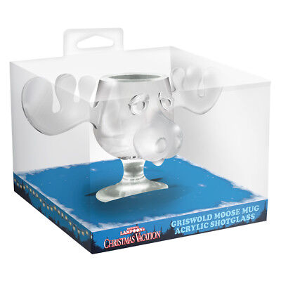 National Lampoon's Christmas Vacation Movie Griswold Moose Mug Shot Glass, BOXED
