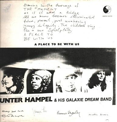 Gunter Hampel & His Galaxie Dream Band - A Place To Be With Us LP