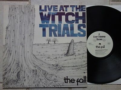 THE FALL – Live At The Witch Trials  LP MINT  First Issue   Step-Forward SFLP 1
