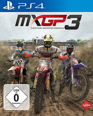 MXGP 3 - The Official Motocross Video Game PS4 PlayStation 4 NIP