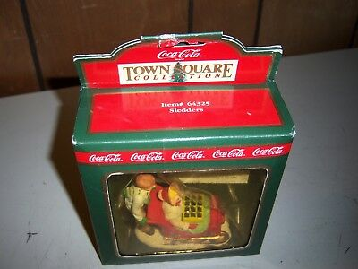 Coca Cola Town Square Collection Sledders #64325