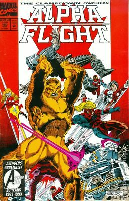 Alpha Flight (1st Series) #120N 1993 VF Stock Image