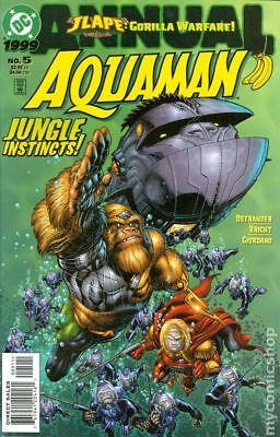 Aquaman Annual #5 1999 VF Stock Image