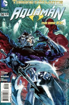 Aquaman (5th Series) #14A 2013 VF Stock Image