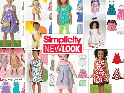 SEW & MAKE New Look SEWING PATTERNS - Childrens Dresses Tops Pants ...