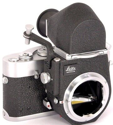 RARE! MICRO-Visoflex III Reflex Housing + OTXBO Finder - Turns LEICA M into SLR