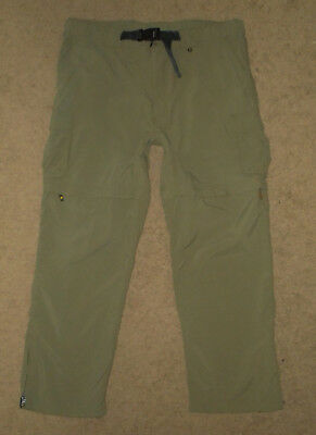 BOY SCOUTS Of America Convertible SWITCHBACK Uniform Cargo Pants NYLON Mens LG