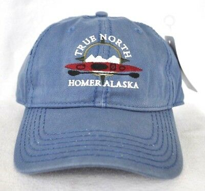 4e17b4b3f4f  HOMER ALASKA  Sea Ocean Kayaking Ball cap hat mineral washed OURAY  embroidered