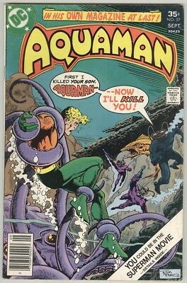 Aquaman #57 September 1977 VG+ Black Manta
