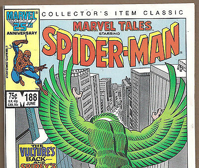 The Amazing Spider-Man #48 Reprint in Marvel Tales #188 from June 1986 in F/VF