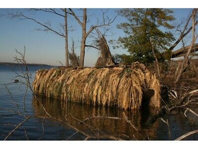 Avery Greenhead Gear Killer Weed Duck Boat Camo Blind Kit All Terrain AT 5  Lb.