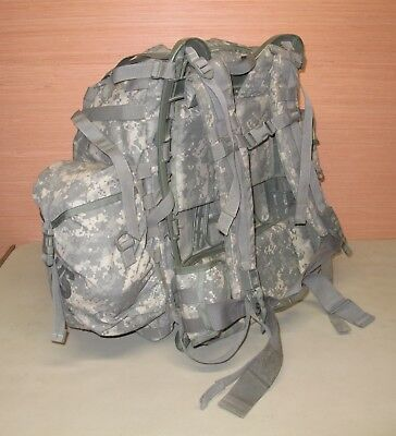 US Military Issue Complete Large Army ACU Camouflage MOLLE II Rucksack Back Pack