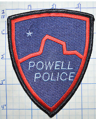 Wyoming, Powell Police Dept Patch
