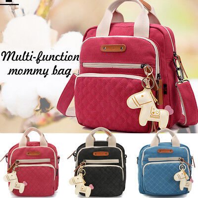 NEW Multifunction Baby Diaper Backpack Mummy Shoulder Bag Nappy Changing Handbag