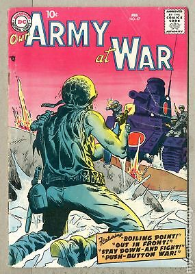 Our Army at War #67 1958 GD 2.0