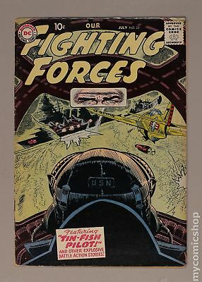 Our Fighting Forces #23 1957 VG+ 4.5