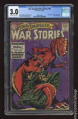 Star Spangled War Stories (DC) #3 to 204 #90 1960 CGC 3.0 0962593002