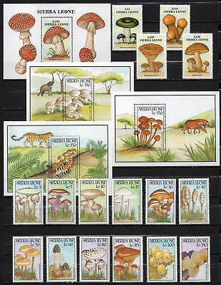 Sierra Leone, Mushrooms, Pilze, MNH (1245