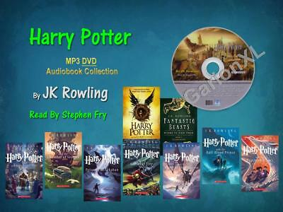 The Complete HARRY POTTER Series JKRowling Read By Stephen Fry (9 MP3Audiobooks)