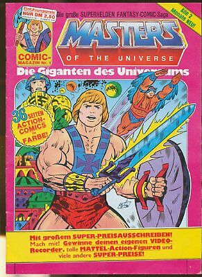 Masters of the Universe  (MOTU)  Heft   1  Interpart  Z 1-2