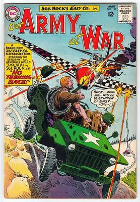 Our Army at War 140   strict  VG 4.0 Affordable-Grade  B  Sgt Rock Easy Co 1964