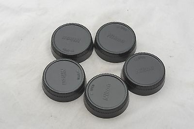 Lot of 5 Nikon Rear Lens Caps in Excellent Condition
