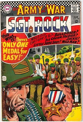 Our Army at War #178 Sgt. Rock strict VF+ 8.5 High-Grade    Easy Co   Boca