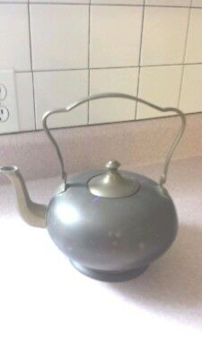 Beautifully Vintage large Solid Brass Teapot Brass tea kettle solid brass teapot