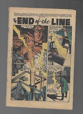 Marvel Comics  Strange Tales #50 Coverless  ALL STORIES COMPLETE