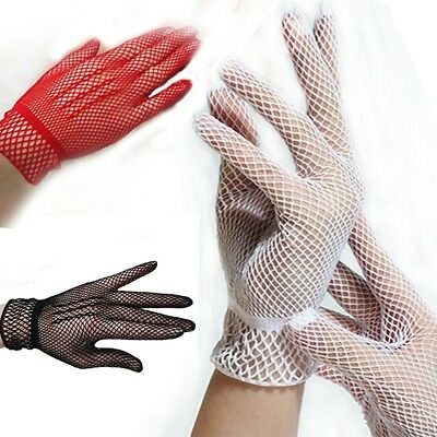 1 Pair Fishnet Mesh Gloves Women Gloves Summer UV Protection Lace Glove Fashion