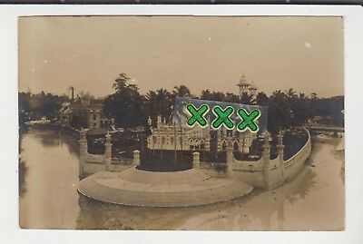 Photo Postcard-Unknown Temple, Singapore - Posted Straits Settlements Stamp 1919