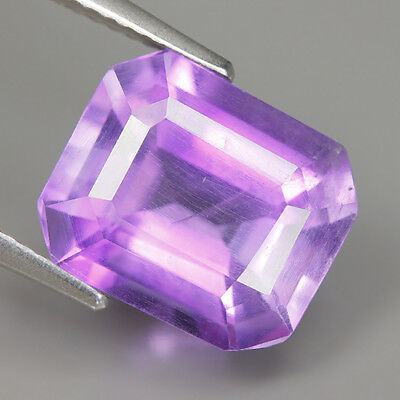 Magnetic 5.55 Ct Natural Brazil Purple AMETHYST Octagon Gemstone @ See Video !!