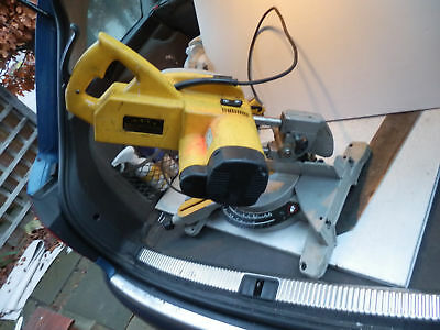 Dewalt Dw707-Lx Sliding Compound Mitre Saw 110V Full Working Order New Lever