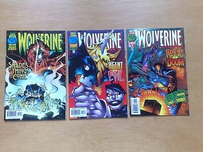 3 Issues Wolverine #111,112,113 Marvel Comics 1997 Stan Lee All Very Fine Cond