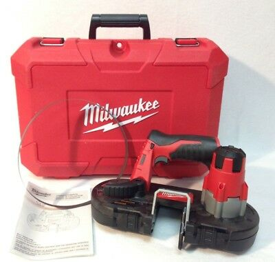 Milwaukee 2429-20 New M12 Cordless Sub-Compact Band Saw - with hard case