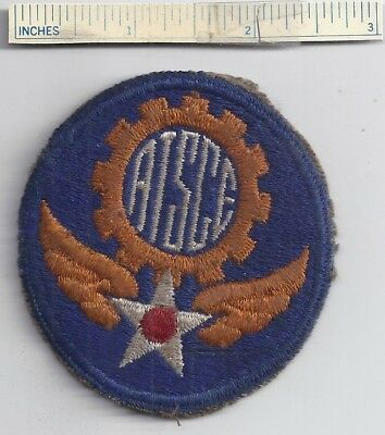 WW2 US Patch ARMY AIR FORCE TECHNICAL SERVICE COMMAND EUROPE USAAF Shoulder WWII