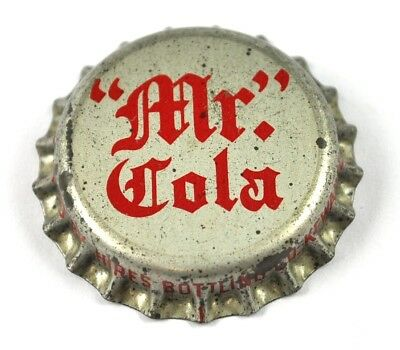 Vintage Mr. Cola Soda Kronkorken USA Bier Bottle Cap Korkdichtung