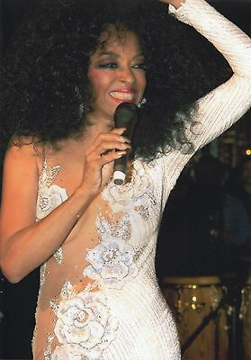 Diana Ross Photo Unique Image Huge 12Inch Image Unreleased Private Gig London 04