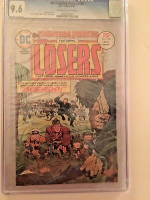Our Fighting Forces #154 (Apr 1975, DC) CGC 9.6