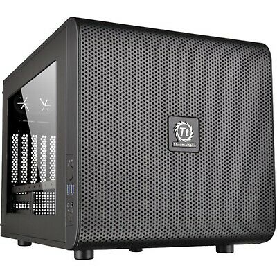 Thermaltake Core V21 Micro M-ATX Black Cube Case CA-1D5-00S1WN-00