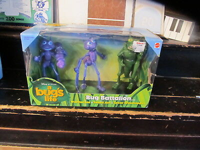 A Bug's Life Bug Battalion NEW IN PACKAGE