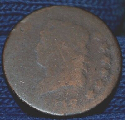1812 Large Cent - About Good