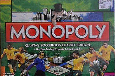 Free Postage ** Brand New ** Monopoly Socceroos Charity Edition Board Game