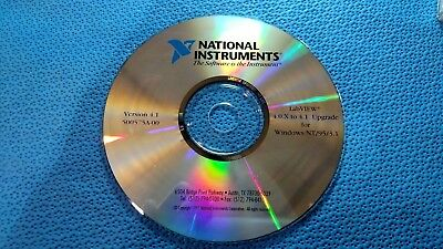 National Instruments LabVIEW 4.0.X to 4.1 Upgrade CD for Windows NT/95/3.1