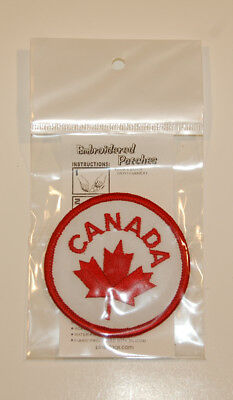 Aufnäher Kanada, Patch Canada, Maple Leaf, NEU