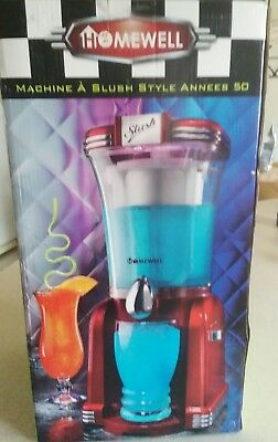 50s Style Slush Drink Maker. Homewell.