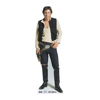 Star Wars Pappaufsteller (Stand Up) - Han Solo (165 cm)