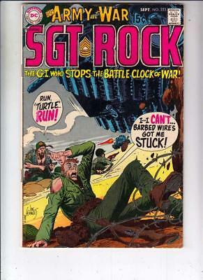 Our Army at War # 223 strict FN/VF artist Russ Heath