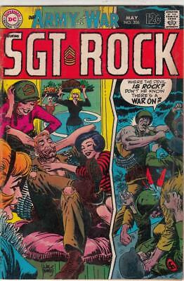 Our Army at War # 206 strict VG/FN artist Joe Kubert