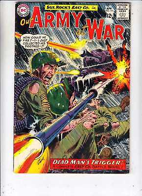 Our Army #141 at War strict VG/FN+ Sgt Rock Easy Co 1964 100's 50pct BV$30.25